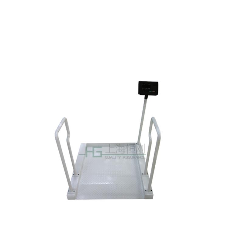 可移动带扶手轮椅秤 带减震装置轮椅电