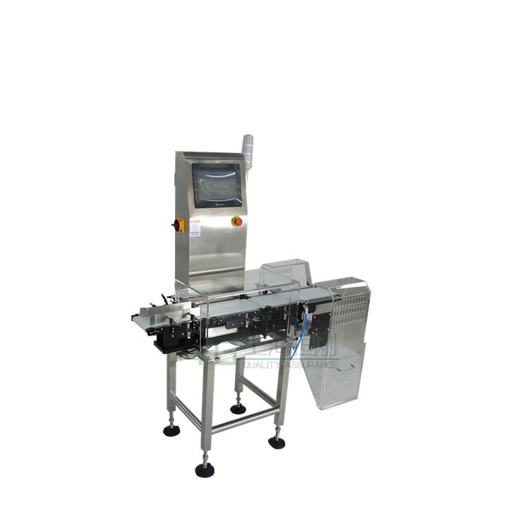 酱料称重检测机 调味品重量分选机 在线